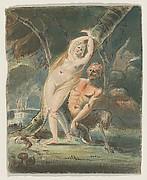Amymone (?) with a Lecherous Satyr