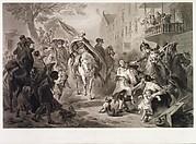 Triumph of Patriotism, Washington Entering New York, 25 November 1783