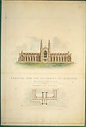University of Michigan (elevation and plan)