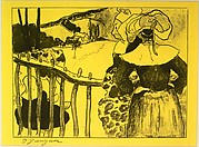 Bretonnes à la Barrière, from the Volpini Suite: Dessins lithographiques