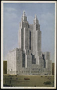 Waldorf-Astoria Hotel, Park Avenue, New York City