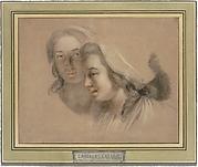 Marie Gabrielle Capet and Marie Marguerite Carreaux de Rosemond