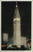 Metropolitan Building at Night, New York