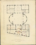 First Merchant's Exchange, New York (plan of main floor)