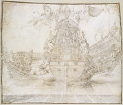 Design for the decoration of a Warship
