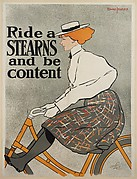 Ride a / STEARNS / and be / content