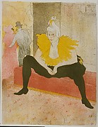 The Seated Clowness (Mademoiselle Cha-u-Kao), from the series Elles (Those Women)