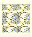 Fabric Design, rope motif
