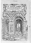Il terzo libro di Sabastiano Serlio Bolognese