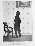Silhouette Portrait of Martin Van Buren