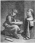 Boy Drawing a Bust of the Roman Emperor Vitellius