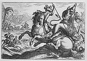 Lion Hunt, from Hunting Scenes IV, plate 3