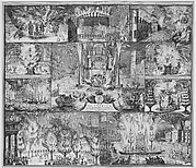 Accession of William and Mary to the Throne of England, April 21, 1689: Celebrations in London, Hamburg, and the Northern Netherlands