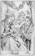 Frederick the Wise in Prayer before the Virgin and Child