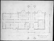 Belmead, Virginia, for Philip St. George Cocke (plan of principle floor)
