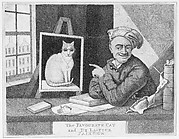 The Favourite Cat and De La-Tour Painter