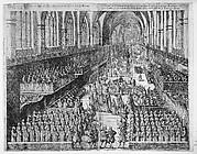 Part I: Carolo III.  Lotharingiae et Barri Duci. . .Dix grande Tables, contenantes les pourtaictz des pompe funebres