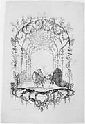 Italian Theatre (Théatre Italien), from Essai de Papilloneries Humaines par Saint Aubin