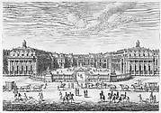 Château de Versailles seen from the forecourt