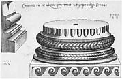 Speculum Romanae Magnificentiae: Ionic Base