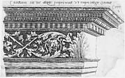 Speculum Romanae Magnificentiae: Corinthian Entablature