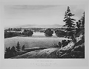 View Near Sandy Hill (The Hudson River Portfolio, plate 7)