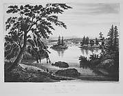 View Near Fort Miller (The Hudson River Portfolio, plate 9 or 10)