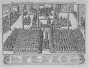 Le vray pourtraict de l'assemblee des Estats tenuz en la ville de Bloys au moys de Decembre, l'an mil cinq cens soixante & seize