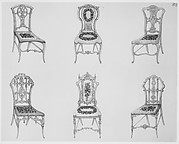 A Useful and Modern Work on Chairs, in Twelve Plates, Containing Forty-Two Designs