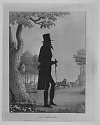 Silhouette Portrait of John Randolph