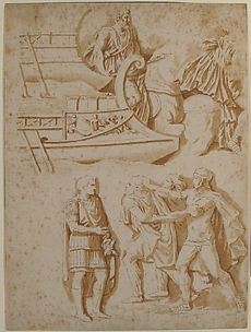 Studies of Details from Trajan's Column
