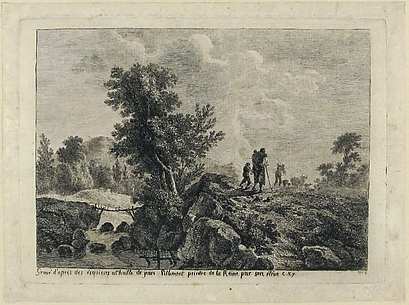 Peasants in a Landscape