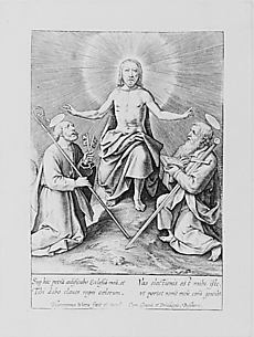 Christ Between Saints Peter and Paul