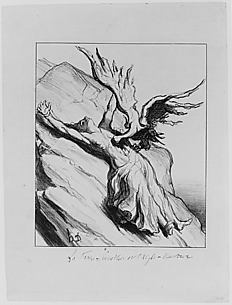 La France, Prométhée et l'Aigle-Vautour (France, Prometheus and the Vulture)