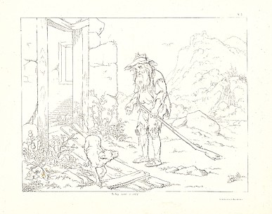 Washington Irving&#39;s Illustrations for the Legend of Rip van Winkle, Designed and Etched by F.O.C. Darley