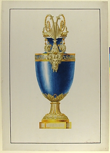 Design for a Gilt Bronze Urn