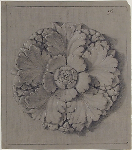 Design for a Rosette Relief