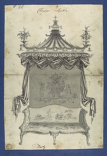 Chinese Sopha [Sofa], in Chippendale Drawings, Vol. I