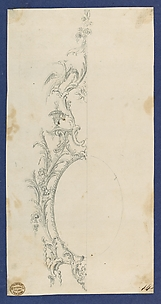 Pier Glass Frame, in Chippendale Drawings, Vol. I