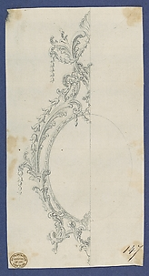 Sconce, in Chippendale Drawings, Vol. I