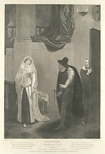 Shakespeare. Merchant of Venice, Act II, Scene V: Shylock's House - Shylock, Jessica and Launcelot