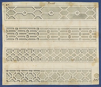 Frets, from Chippendale Drawings, Vol. II