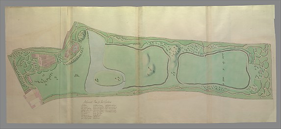 General Plan of the Gardens at Kew