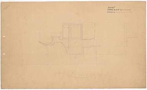 Working Drawing for Coupe no.24092A