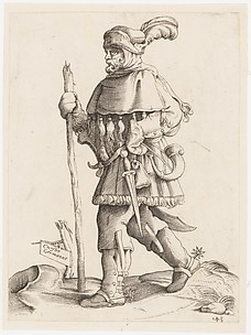 Costume Plate: German Messenger