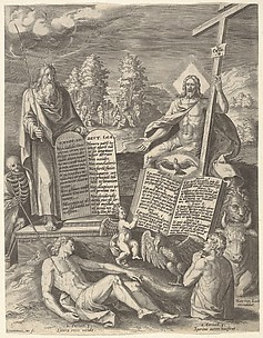 Allegory of the Salvation of Mankind (Allegory of the Old Law and the New)