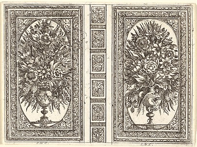 Book Cover (Two Flower Vases)