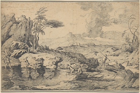 Landscape with Fishermen