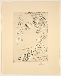 Portrait of Dora Maar with a Chignon I
