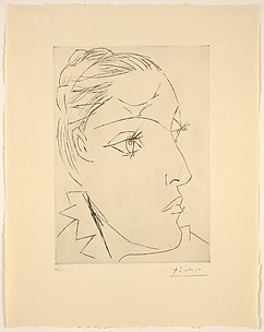 Portrait of Dora Maar with a Chignon II